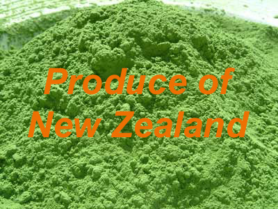 Organic Barley Grass Powder (New Zealand) 1 kg