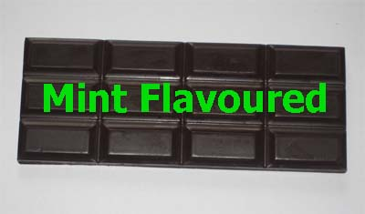 Mint Flavoured Raw Cacao Bar 60g