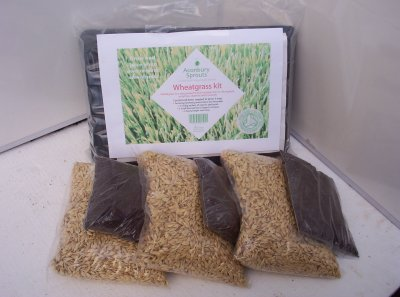 Organic Wheatgrass Kit
