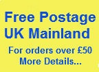 Free UK Postage for orders over £50.00