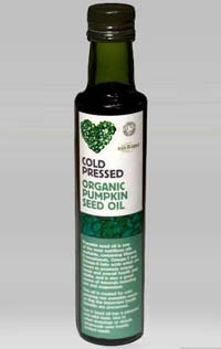 Organic Cold-Pressed Pumpkin Seeds Oil 250ml