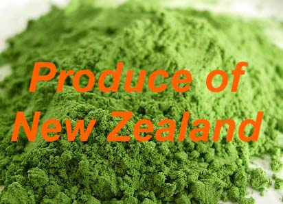 Organic Wheatgrass Powder (New Zealand) 125g