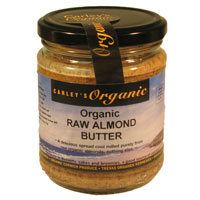 Raw Organic Almond Butter 250g
