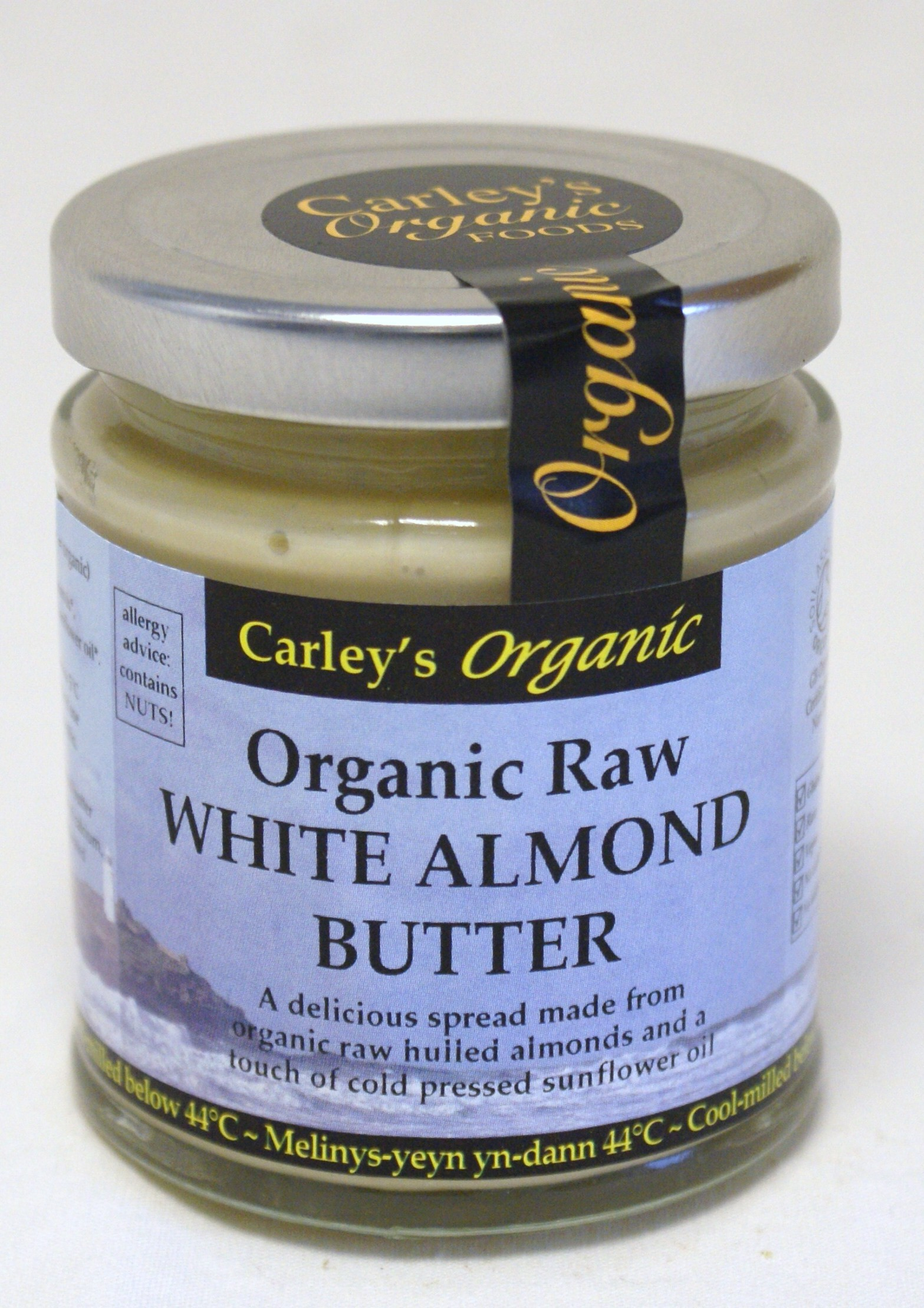 Raw White Almond Butter (Blanched) - 170g